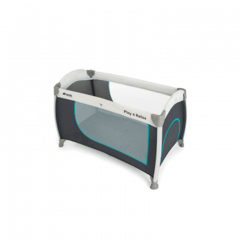 Hauck Play 'n Relax Travel Bed - Hearts