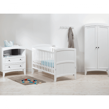 East Coast Acre Cot Bed - Lifestyle Cot