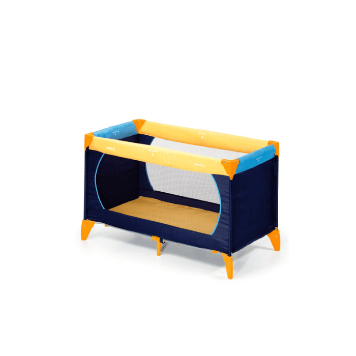 Hauck Dream 'n Play Travel Bed - Yellow / Blue