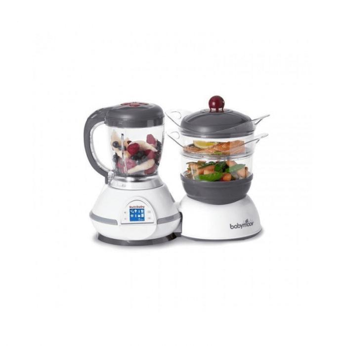 BabyMoov Nutribaby Food Processor - Cherry
