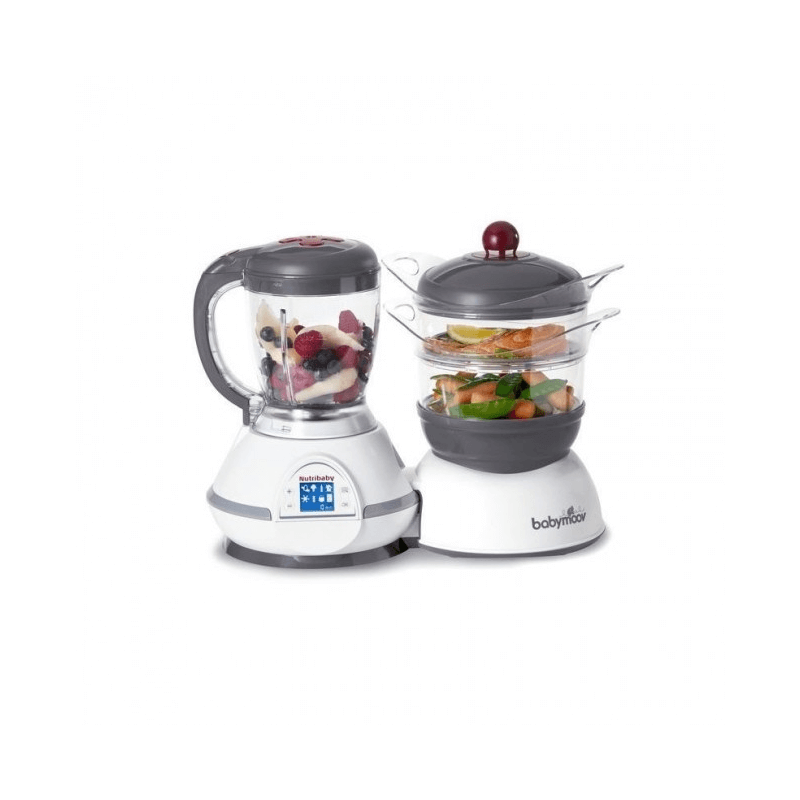 Compare retail prices of BabyMoov Nutribaby Food Processor - Cherry to get the best deal online