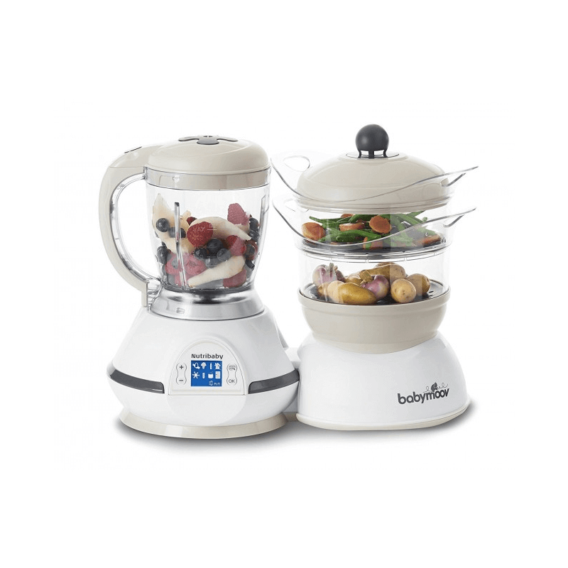 Compare retail prices of BabyMoov Nutribaby Food Processor - Cream to get the best deal online