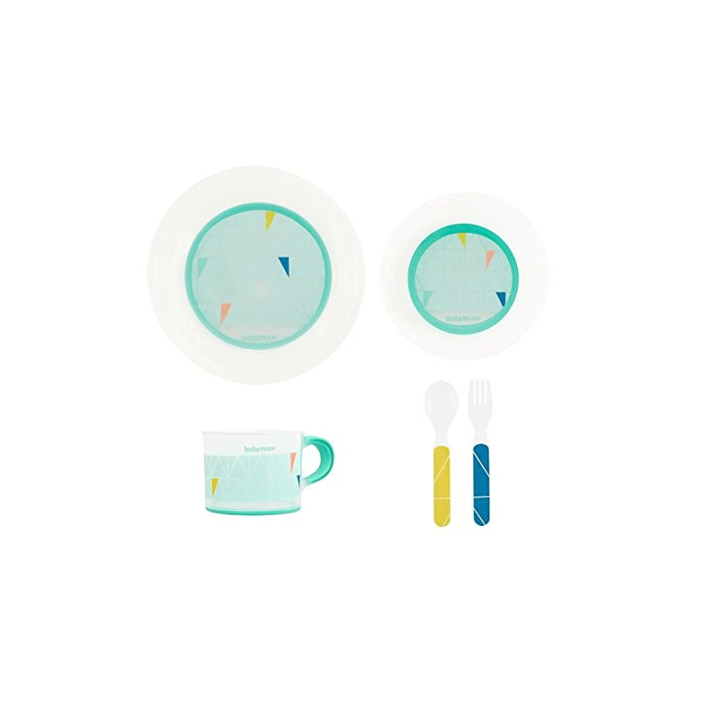 Compare retail prices of Babymoov Anti-Slip Feeding Set - Azure to get the best deal online