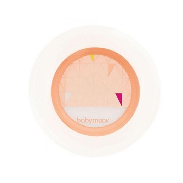 Babymoov Anti-Slip Feeding Set - Peach Plate