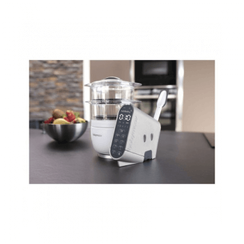 Babymoov Nutribaby Food Processor Cover - Brushed Aluminium Indoors