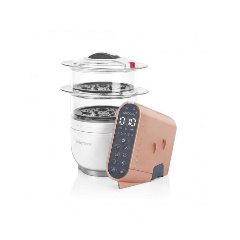 Compare retail prices of Babymoov Nutribaby Food Processor Cover - Brushed Copper to get the best deal online