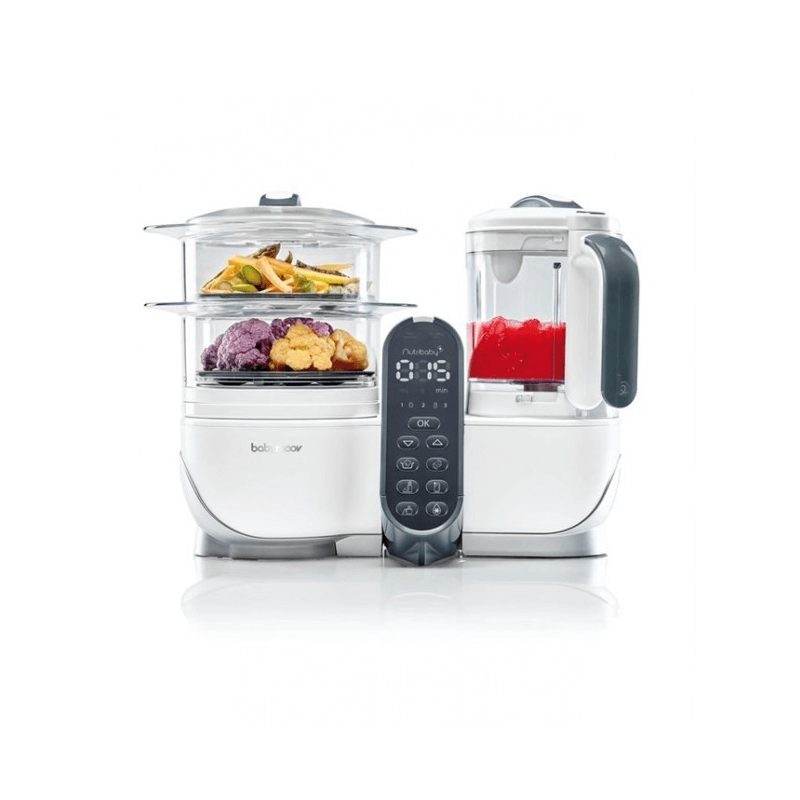 Compare retail prices of Babymoov Nutribaby Plus Food Processor - Loft White to get the best deal online