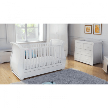 Babymore Bel Room Set 3 Pieces - White-1