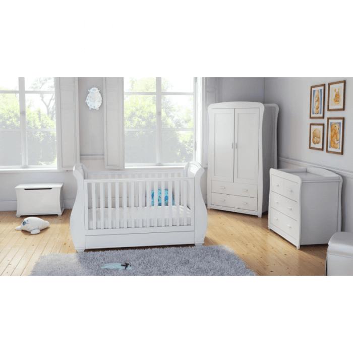 Babymore Bel Room Set 5 Pieces - White-1