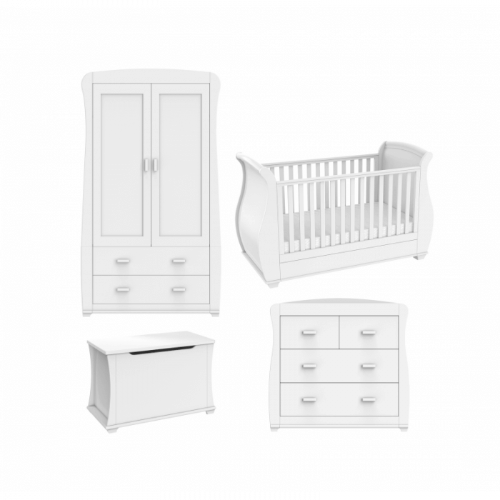 Babymore Bel Room Set 5 Pieces - White-2 wider view