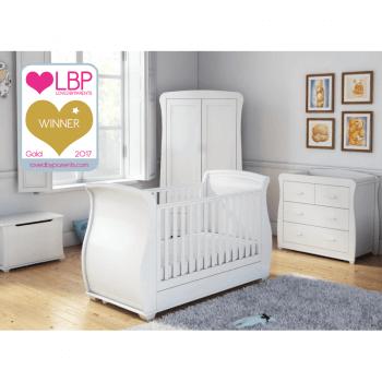 Babymore Bel Room Set 5 Pieces - White