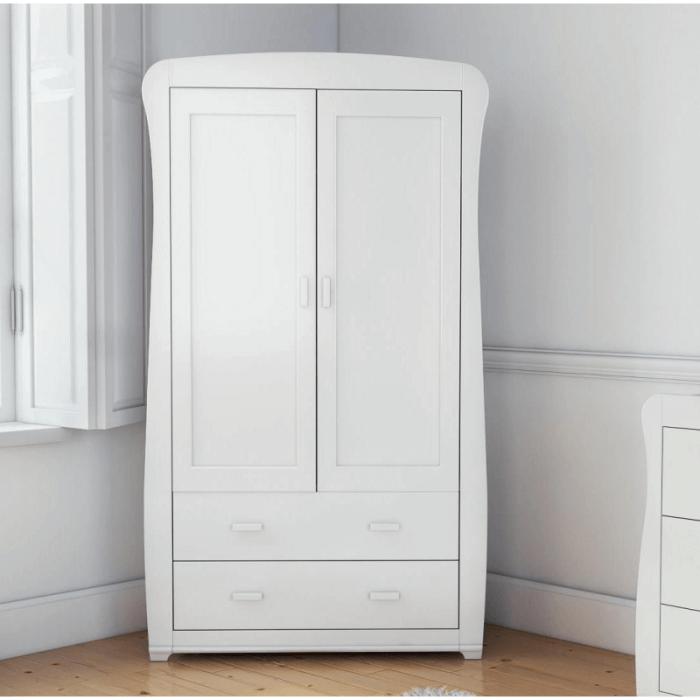 Babymore Bel Wardrobe - White-1