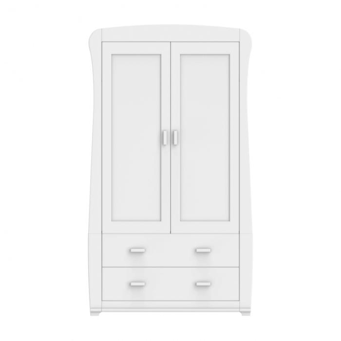 Babymore Bel Wardrobe - White-3