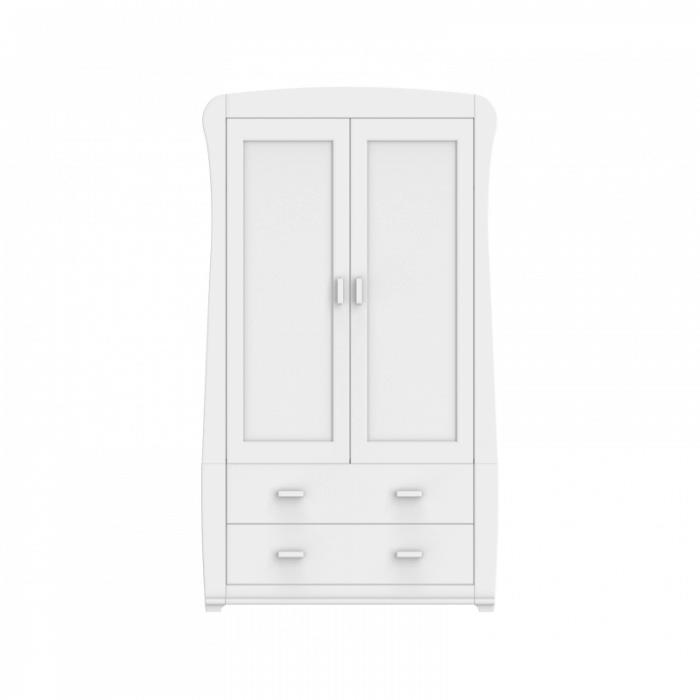 Babymore Bel Wardrobe - White-3 wider view
