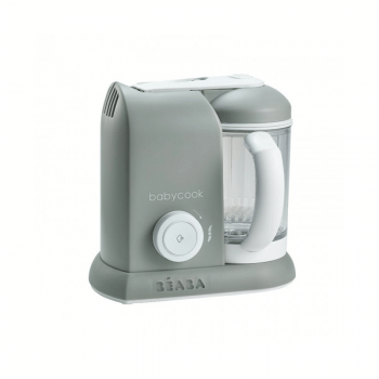 Beaba Babycook Solo 4-in-1 Food Processor (Grey)