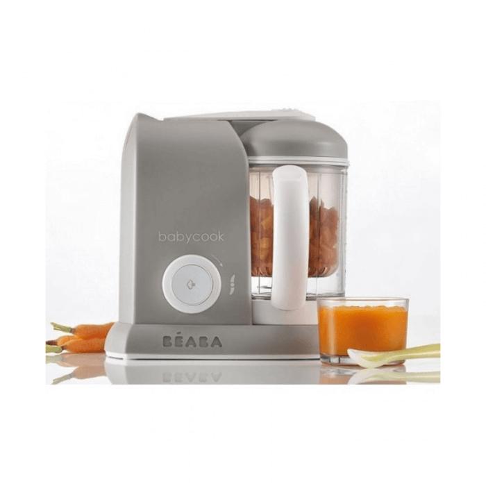 Beaba Babycook Solo 4-in-1 Food Processor (Grey) Blend