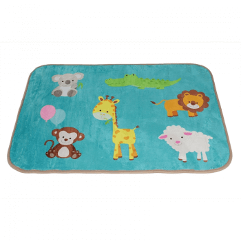 Carpet Runners Playmat - Funky Animals