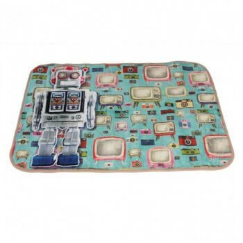 Carpet Runners Playmat - Funky Robot