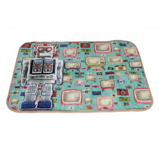 Carpet Runners Playmat - Funky Robot