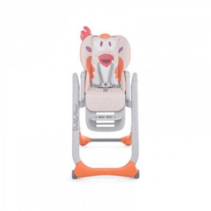 Chicco Polly 2 Start Highchair - Fancy Chicken Front