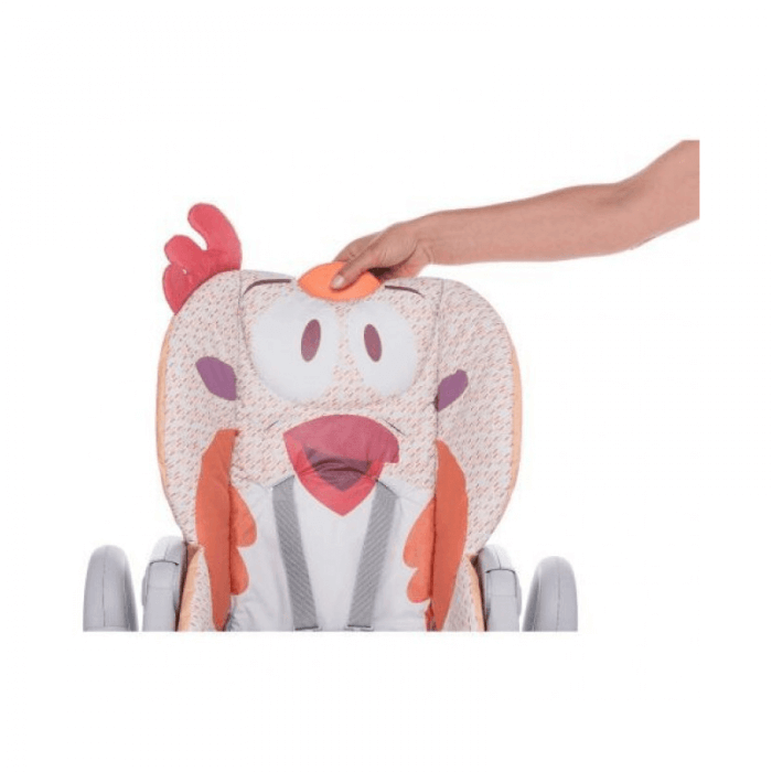 Chicco Polly 2 Start Highchair - Fancy Chicken Top