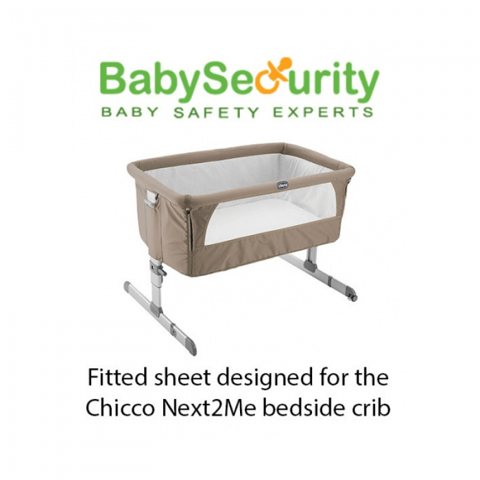 DK Glovesheet Organic Fitted Sheet - Fits Chicco Next2Me Crib Chicco