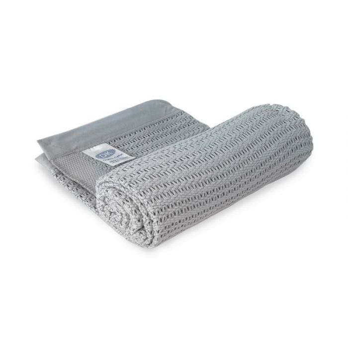DK Glovesheets Grey Cotton Blanket 2