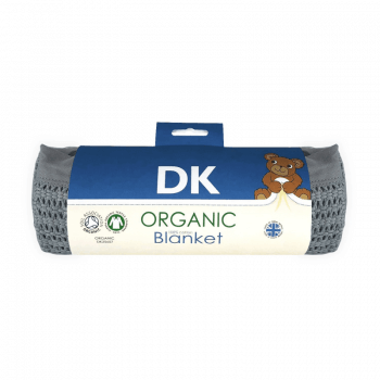 DK Glovesheets Grey Cotton Blanket