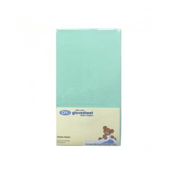 DK Glovesheets Stokke Sleepi Fitted Sheet - Turquoise 122x69cm