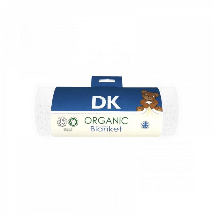 DK Glovesheets White Cotton Blanket