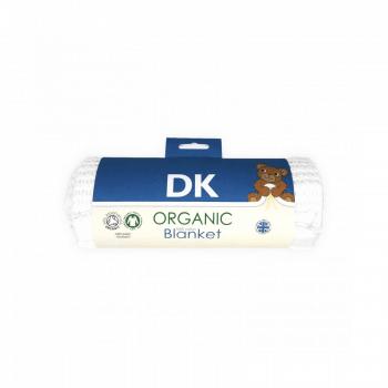 DK Glovesheets White-White Satin Blanket