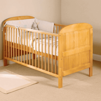 East Coast Angelina Cot Bed - Antique - Lifestyle