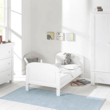 East Coast Angelina Cot Bed - White - Lifestyle 2