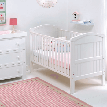 East Coast Country Cot Bed - Lifestyle