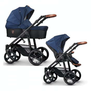 Venicci Gusto 2-in-1 Travel System - Navy