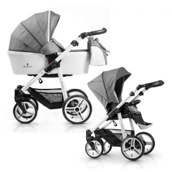 Venicci Pure 2-in-1 Travel System - Denim Grey