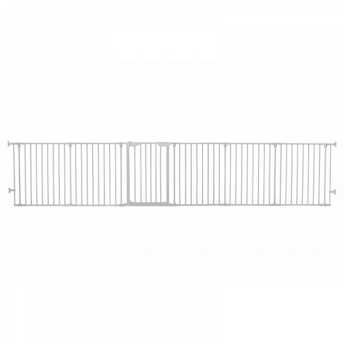 Dreambaby Mayfair Converta Metal Playpen - White Open