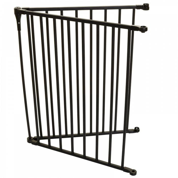 Dreambaby Royale Converta 2 Panel 120cm Extension - Black