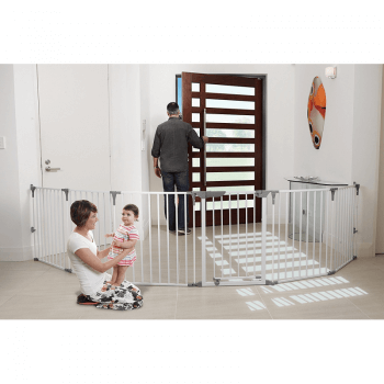 Dreambaby Royale Converta 3-in-1 Playpen - White Room Divider