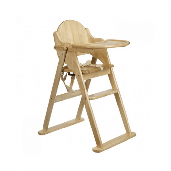 East Coast All Wood Folding Highchair 2