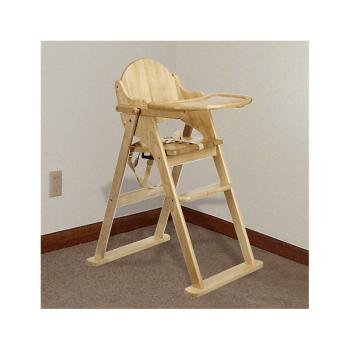East Coast All Wood Folding Highchair