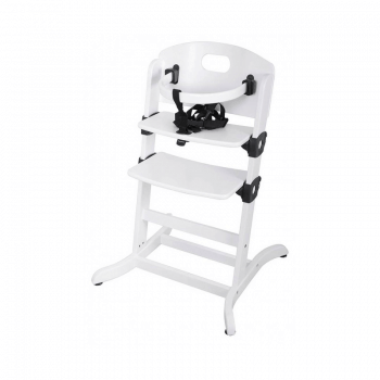 East Coast Contour multi-height Highchair - White