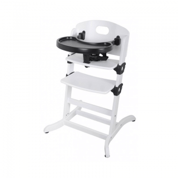 East Coast Contour multi-height Highchair - White Tray
