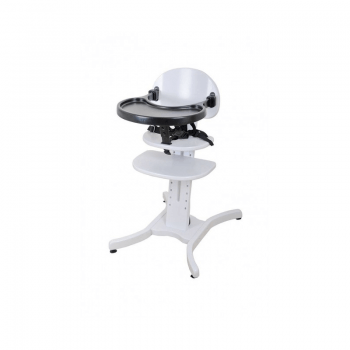East Coast Curved multi-height Highchair - White Tray