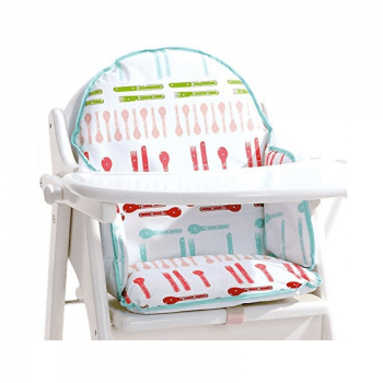 East Coast Dinnertime Highchair Insert (White)