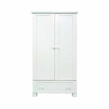 East Coast Montreal Double Wardrobe - White 2