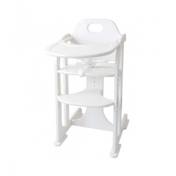 East Coast White Multi Height Highchair
