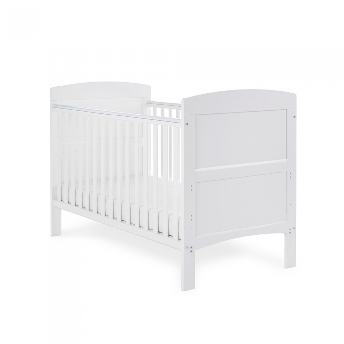 Grace Cot Bed- White- Main Image