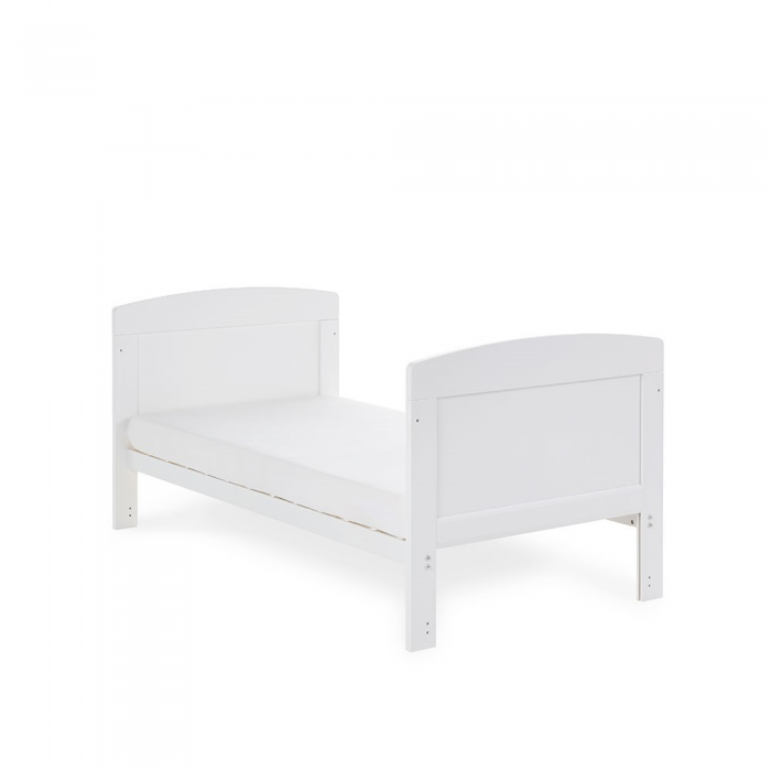 Grace Cot Bed- White- Toddler Bed