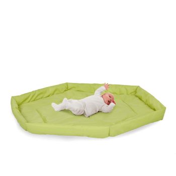 Hauck Babypark, 6 Sided Playpen with Playmat - White Mat